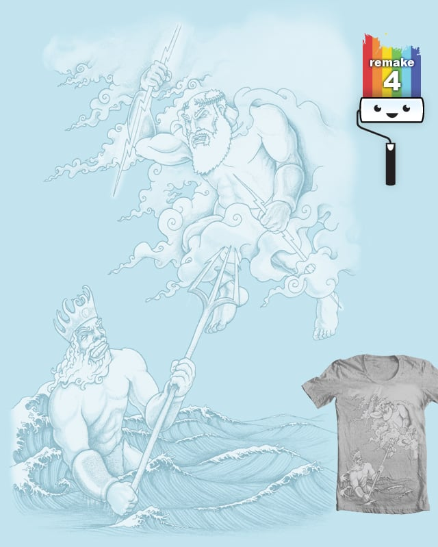 Gods at War by Musarter on Threadless