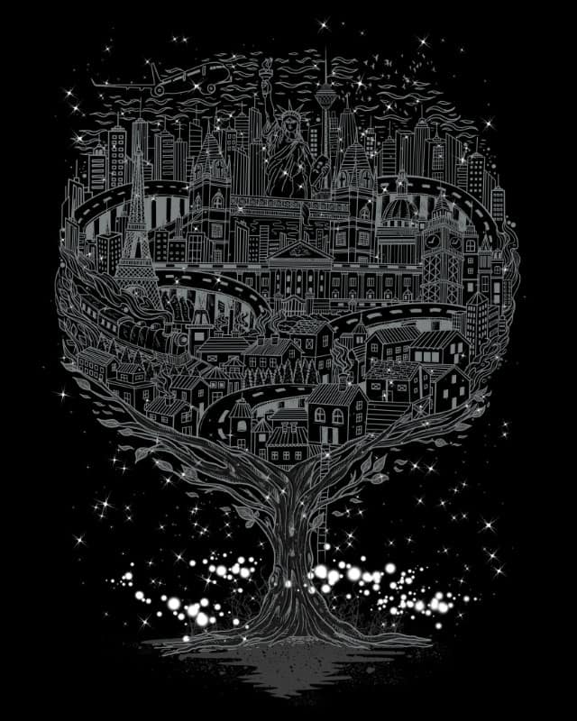 Midnight Journey by dandingeroz on Threadless