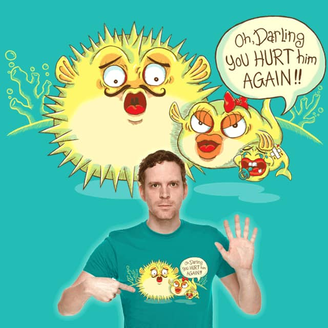 Darling, please don't puff at home.. by normannazar on Threadless