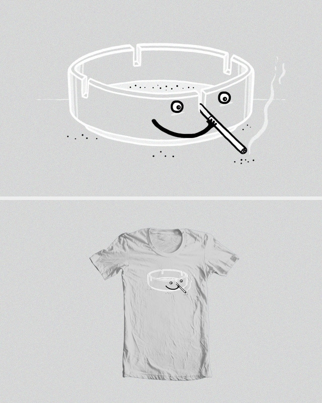 Passive smoker by randyotter3000 on Threadless