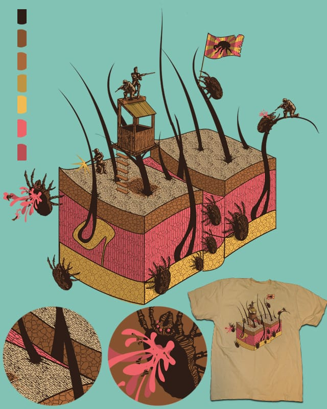 The battle of Folicle Forest by Frederick_Jay on Threadless