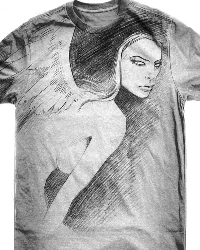 angel by droopbomb on Threadless