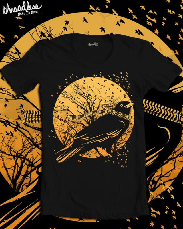 The Last Flight Out by elmopunk on Threadless