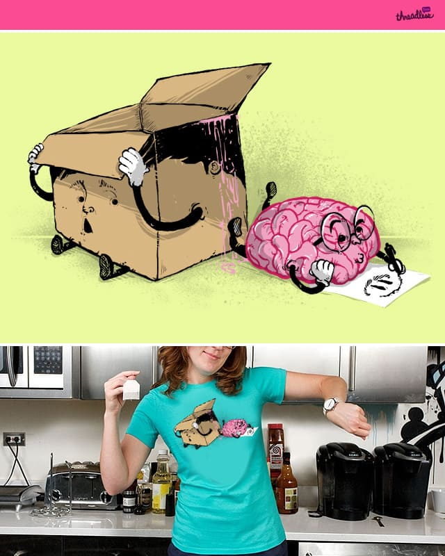 Think outside the BOX. by anwarrafiee on Threadless