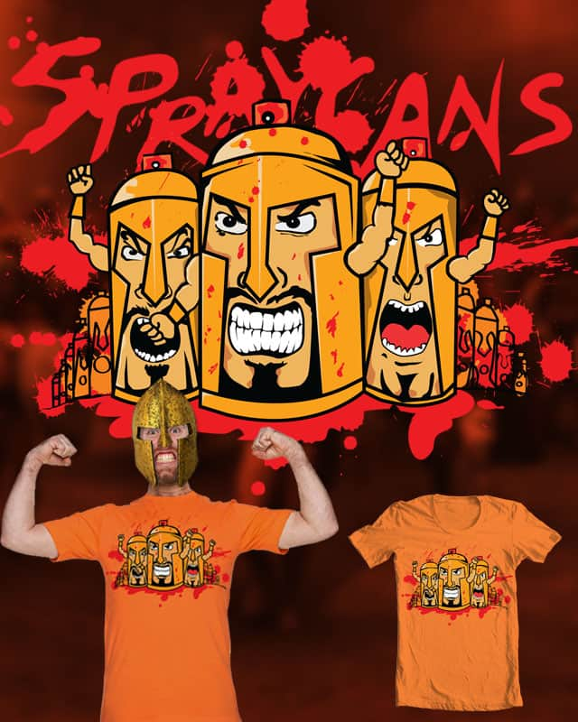 MEET THE SPRAYCANS by robbyiodized on Threadless