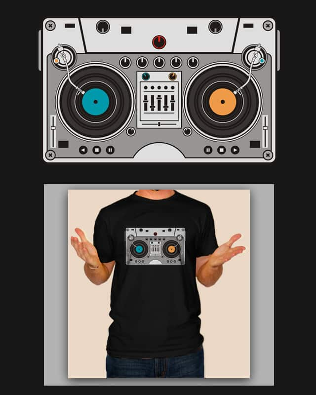 turntable casette by netralica on Threadless