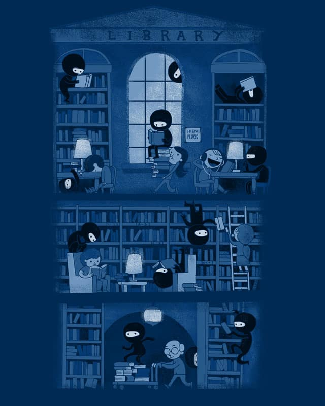 Silence in the Library by queenmob on Threadless