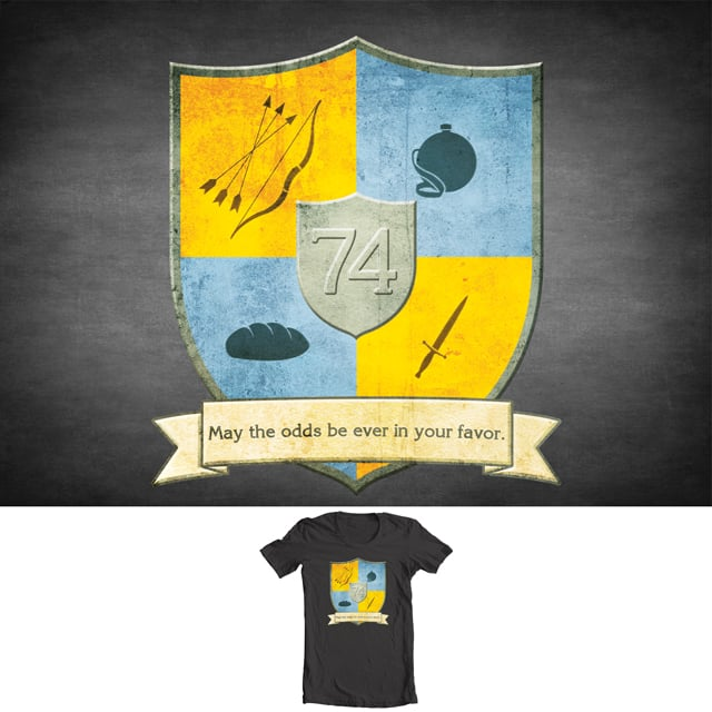 May The Odds Be Ever In Your Favor by 5eth on Threadless