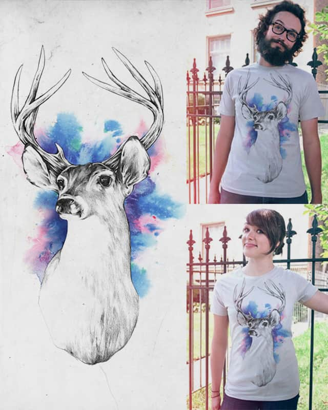 The Deer by INDZ on Threadless