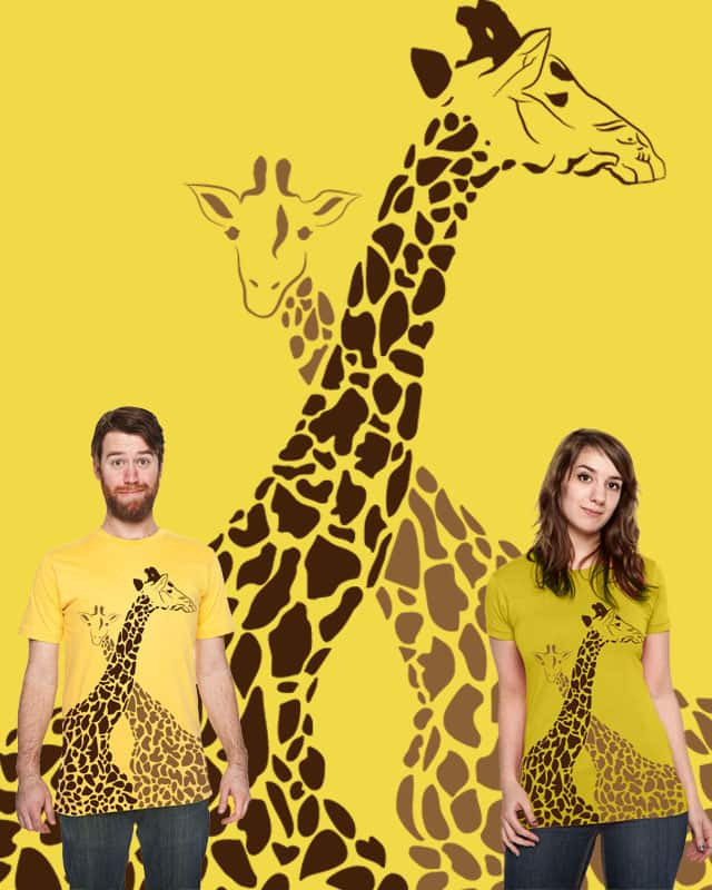 giraffe by Sabrinaismee on Threadless