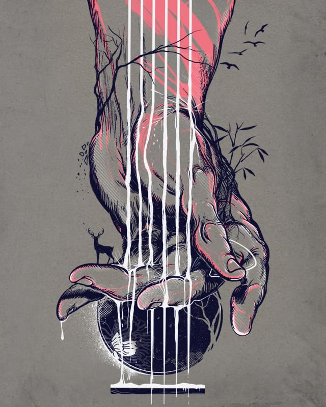 Heartstrings by iamrobman on Threadless