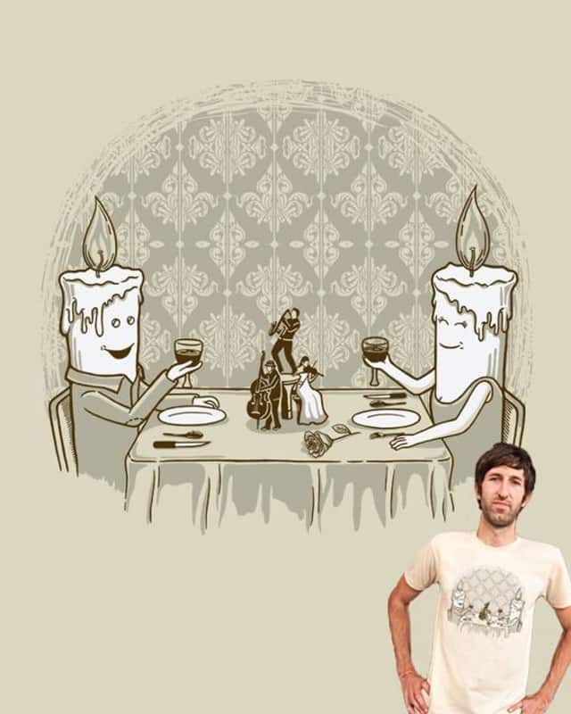 Candle Light Dinner by eQuivalent on Threadless
