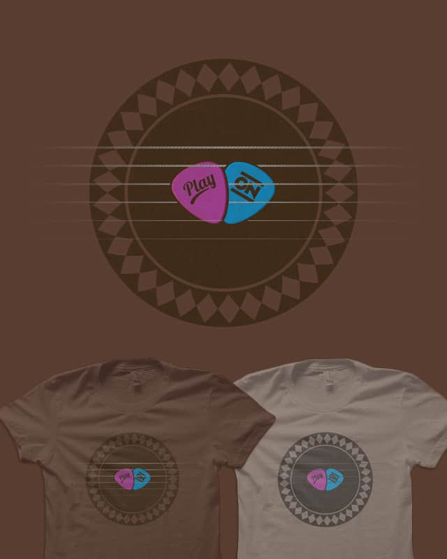 If Music Be The Food Of Love... by quick-brown-fox on Threadless
