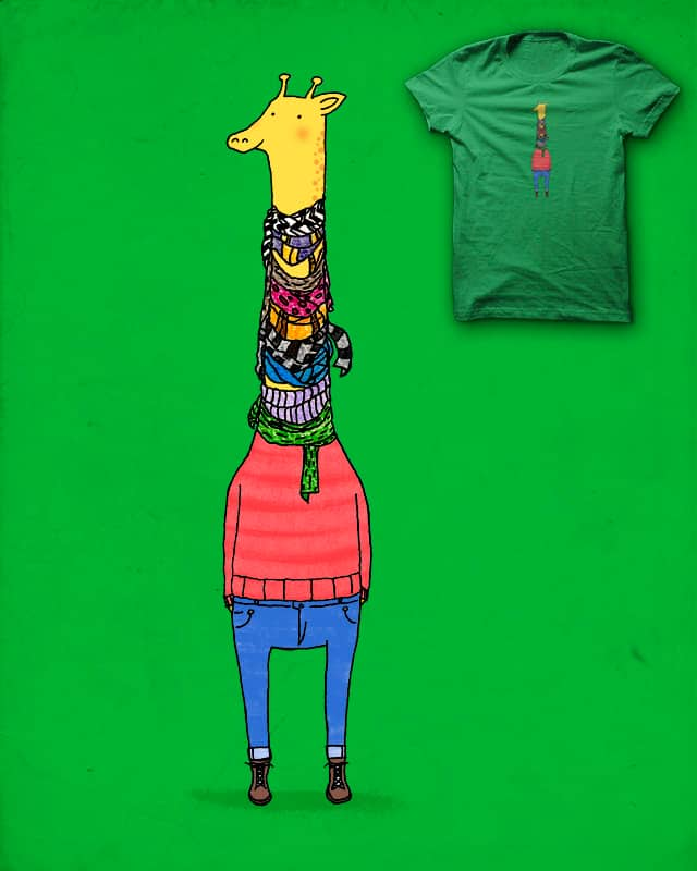 Scarf Lover by Calvin Wu on Threadless