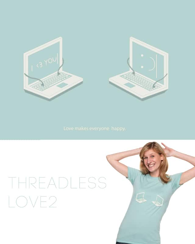 Computer lovers by spazio C on Threadless