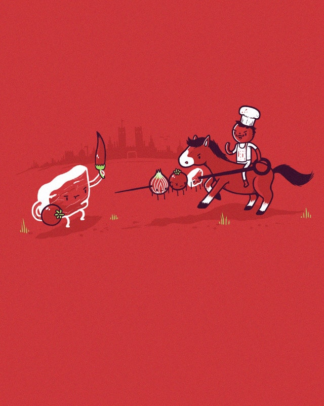 Kebabbed by randyotter3000 on Threadless