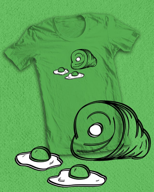 Just Some Eggs and Ham by bestdangSK on Threadless