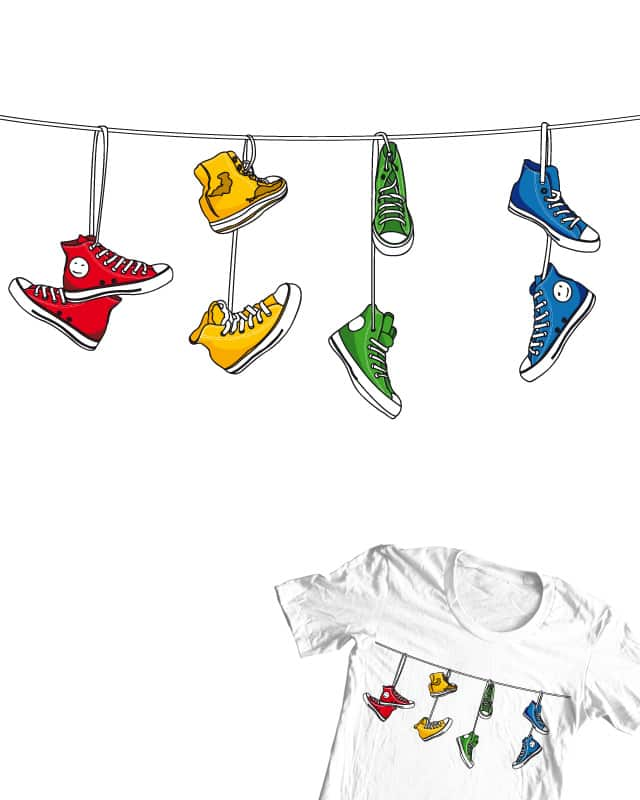 it's my shoes? by DonnieArt on Threadless
