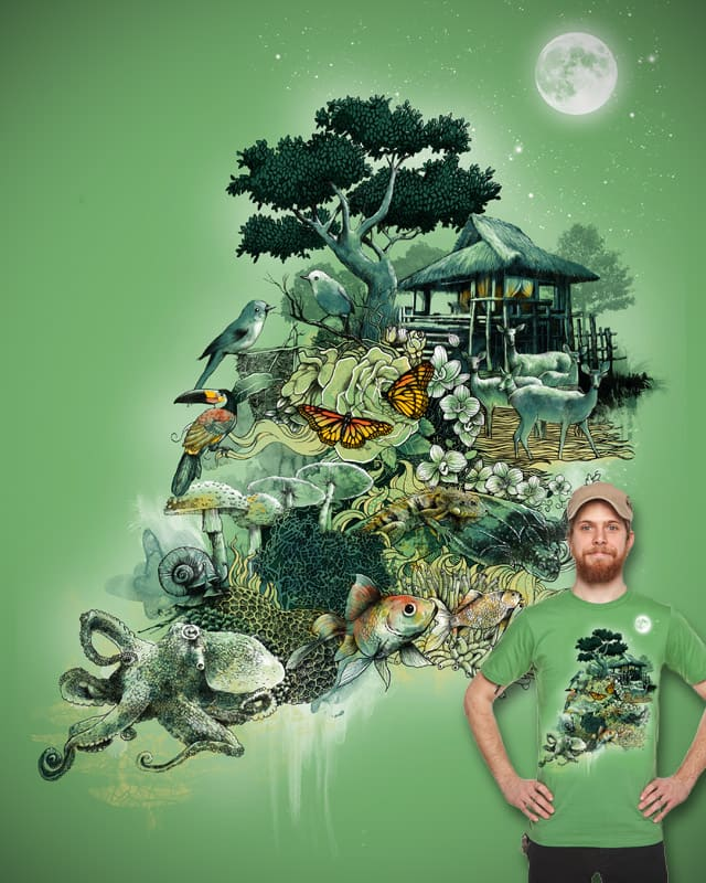 Escape to Ecology by silentOp on Threadless