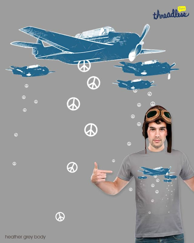 peace bombers by alfboc on Threadless