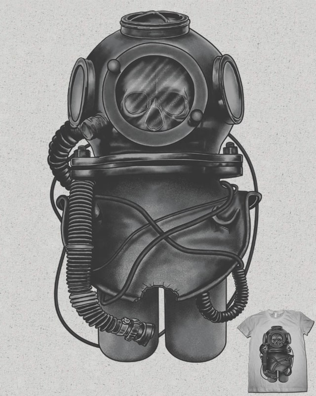 Deep Diver by fathi on Threadless