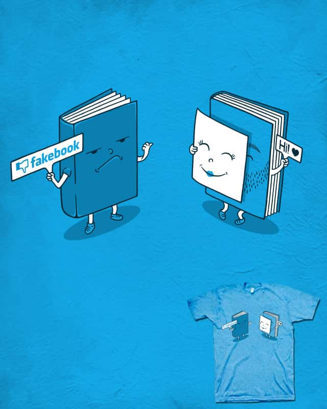 Don't judge the book its cover by Stereomode on Threadless