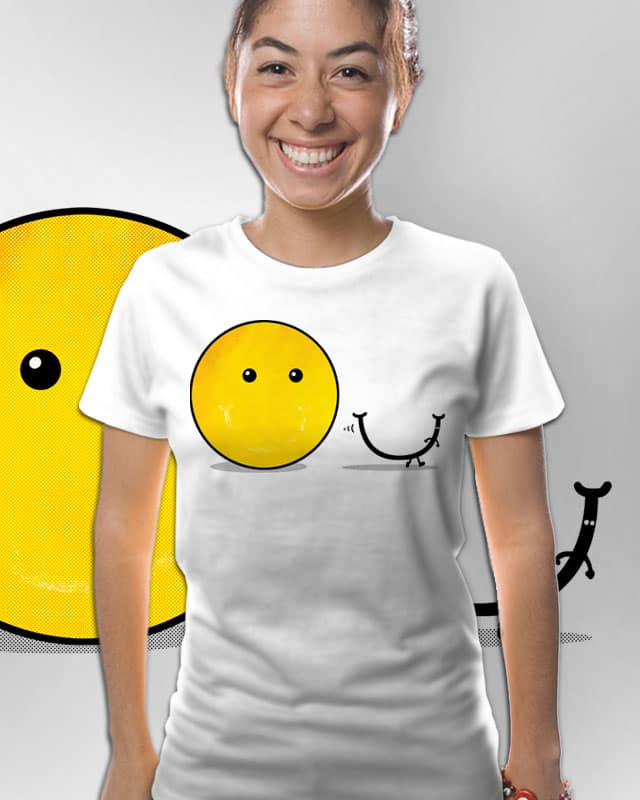 can't smile without u by sayahelmi on Threadless