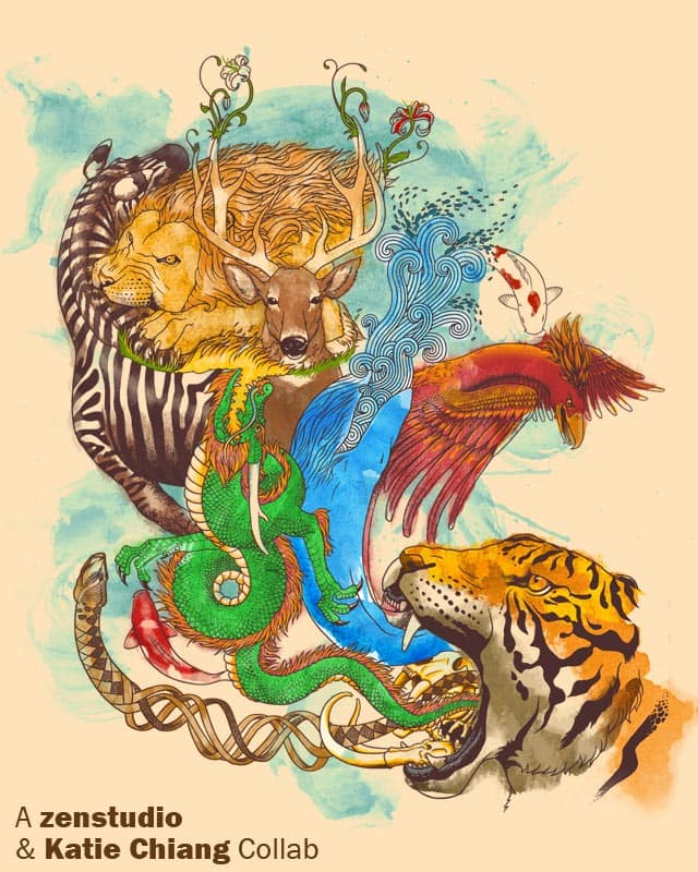 Animal Kingdom by Zen Studio on Threadless