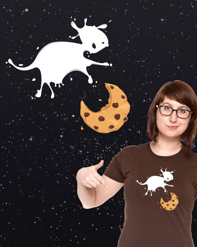 The Milk Jumps Over the Cookie by bestdangSK on Threadless