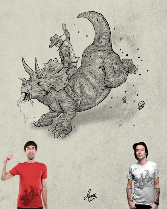 Rodeosaurs by bykai on Threadless