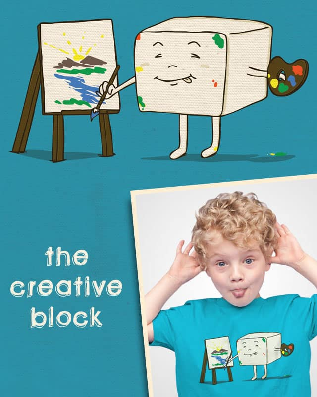 The Creative Block by song23 on Threadless