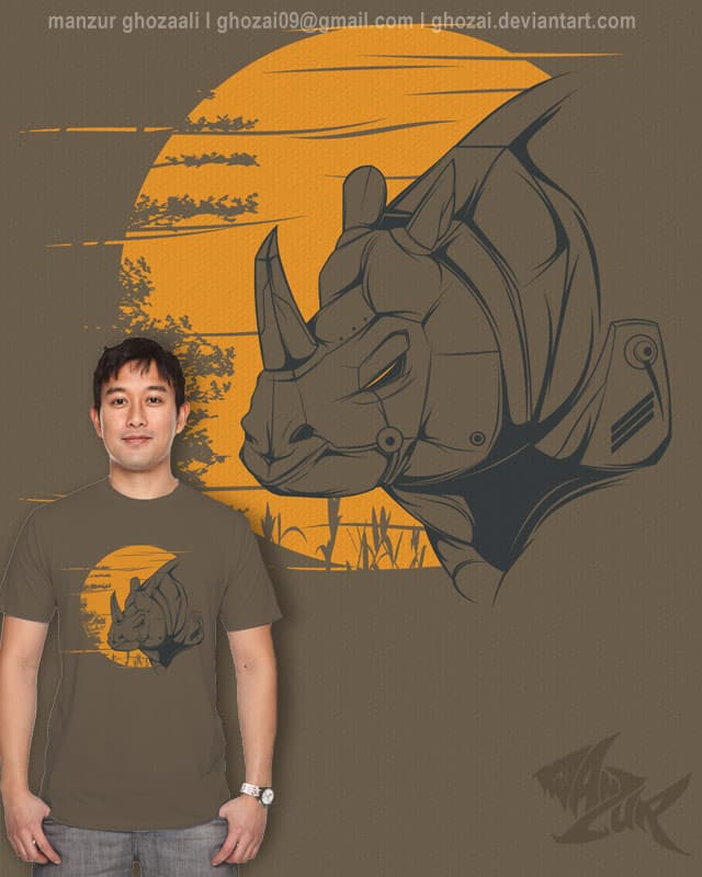 future of rhinoceros by ghozai on Threadless