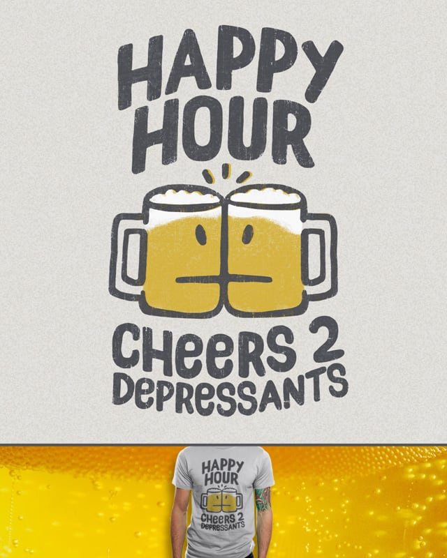 Happy Hour by murraymullet on Threadless