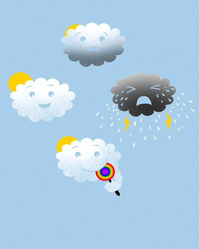 Emoticloud by kooky love on Threadless