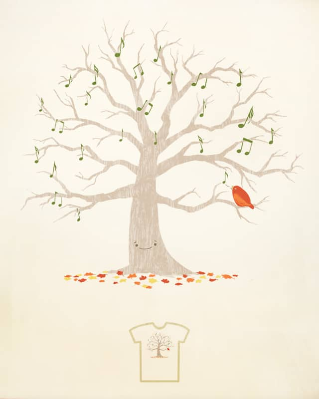 A Little Song by darel on Threadless