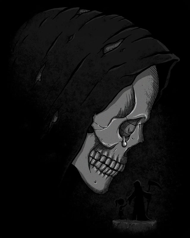 death's remorse by boostr29 on Threadless