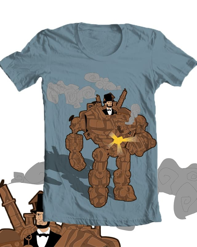The Rail-Splitter by JDawgZane on Threadless