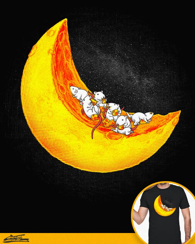 Mice & Moon by Cnatch on Threadless