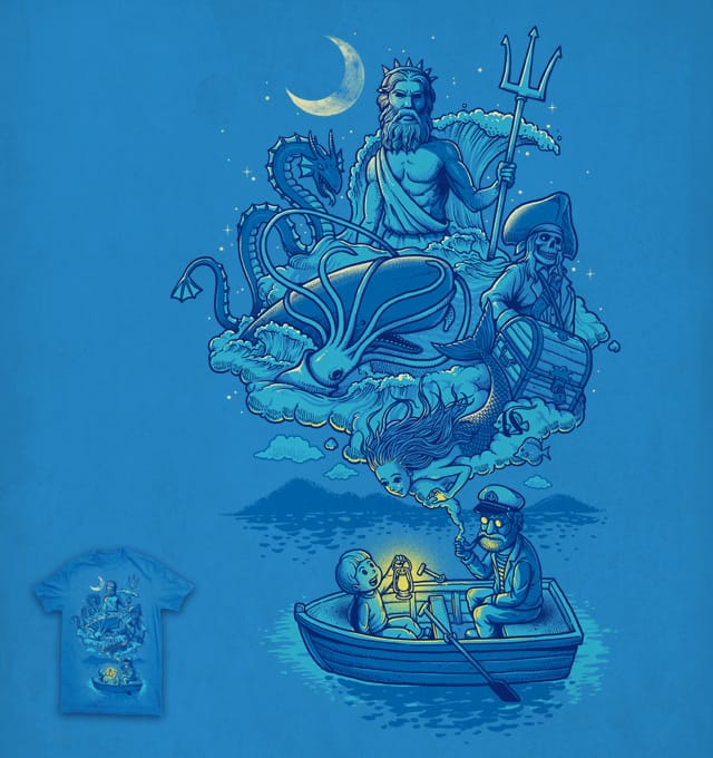 Old Captain's Memories by ben chen on Threadless