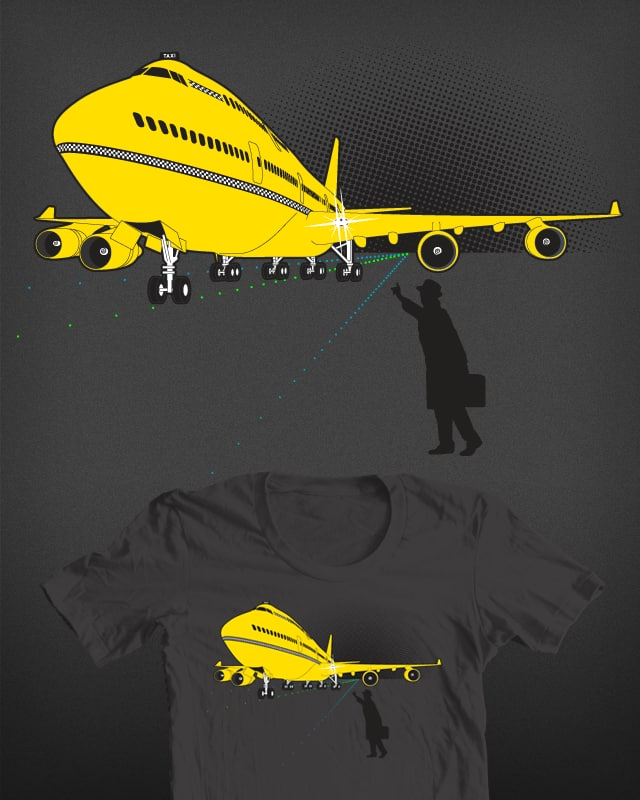 Taxi! by manlooon on Threadless
