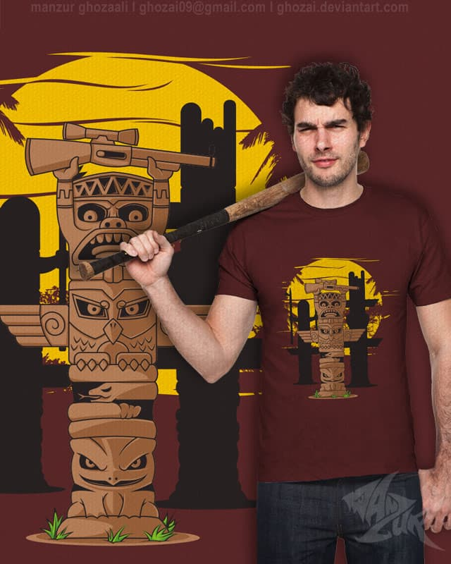 sculpture of food chain by ghozai on Threadless