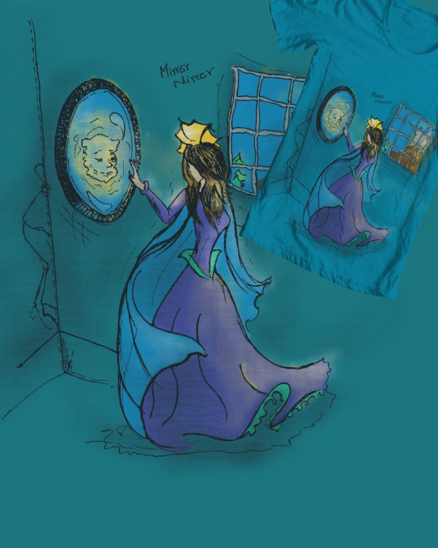 Mirror, Mirror On the Wall by potternerds on Threadless