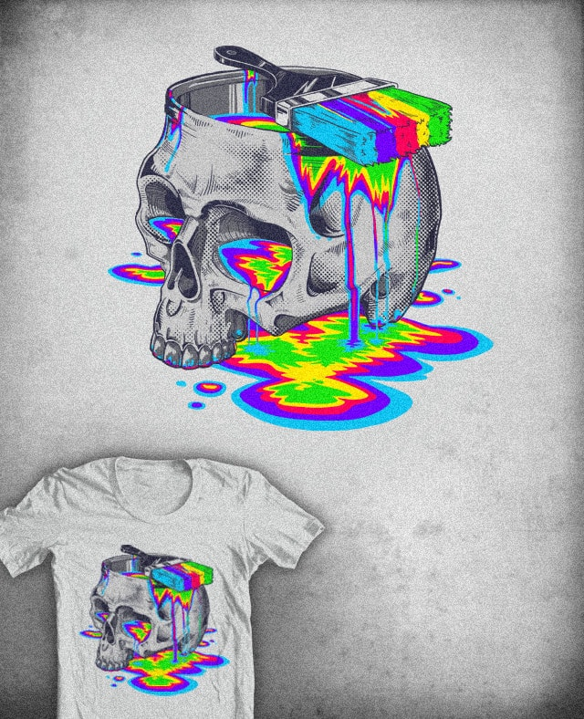 Death By Inspiration by colinlepper on Threadless