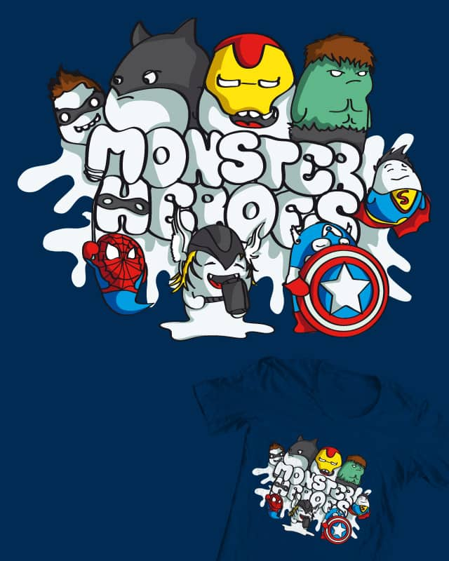 Monster Heroes by DonnieArt on Threadless