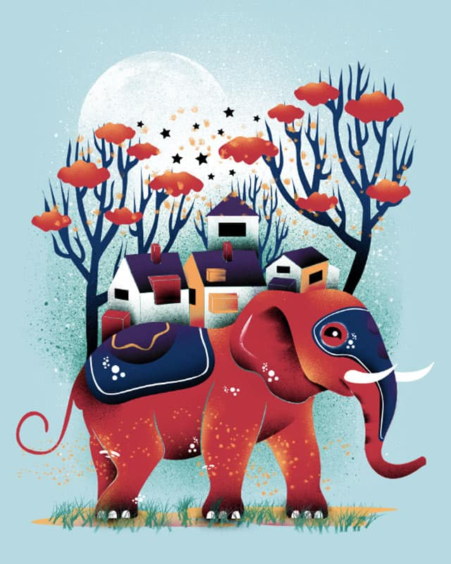 A Colorful Ride by dandingeroz on Threadless