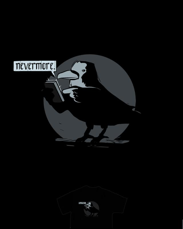 One new message from The Raven by nathanwpyle at gmail.com on Threadless