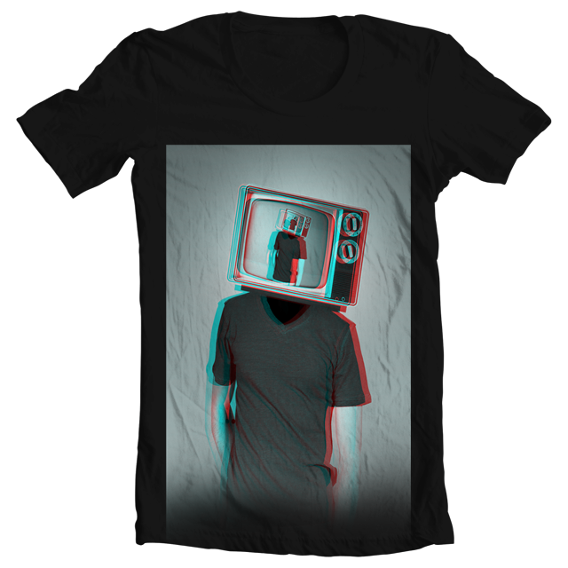 My Life is in 3D by ColdDegree on Threadless
