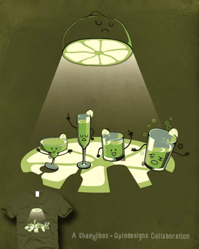 Enjoying the Limelight by GyleDesigns on Threadless