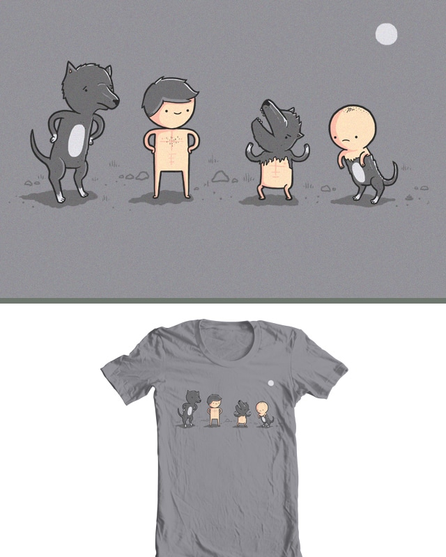 A Werewolf's little brother by randyotter3000 on Threadless