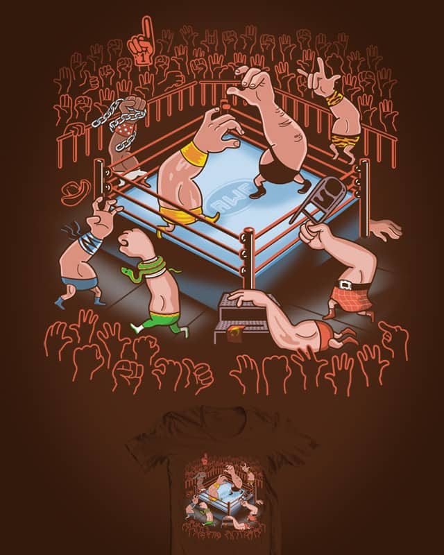 Arm Wrestle Mania by ibyes on Threadless
